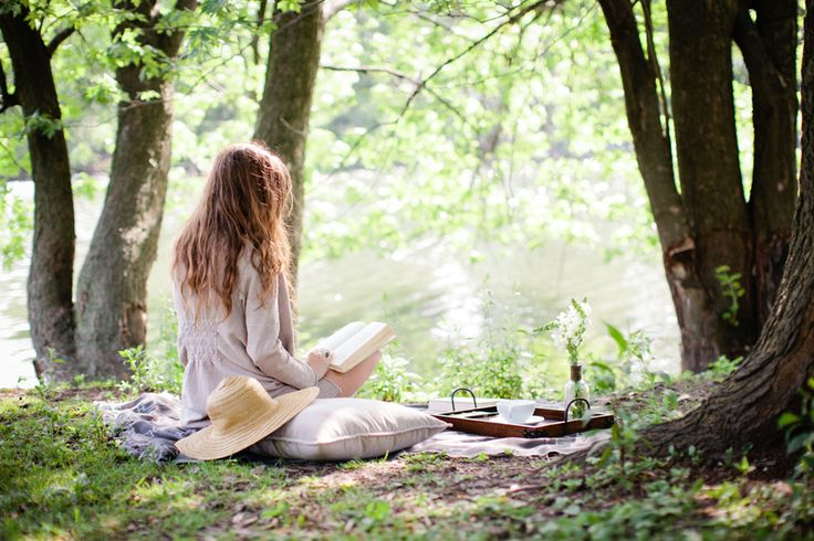 : Inspiration, Reading Book, Dream, Summer, Life Decisions, Morning, Place, Picnic