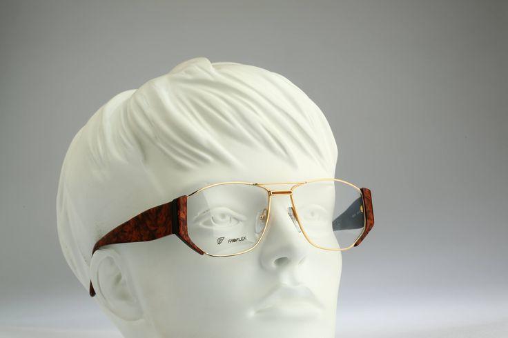 Faoflex Mod 30/89   / Vintage eyeglasses & Sunglasses  / NOS / 80S rare and unique by CarettaVintage on Etsy