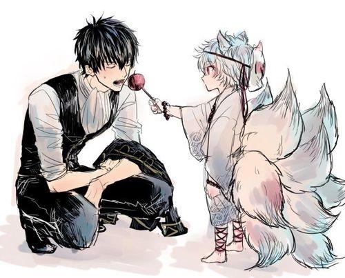 Imagen de animal, anime, and boys