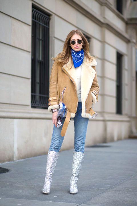 Кьяра Ферраньи - уличная мода осень/зима 2015-2016