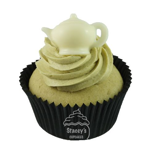 """Gourmet Green Tea Cupcake """"The Health Retreat"""" by Stacey's Cupcakes www.staceyscupcakes.com.au"""