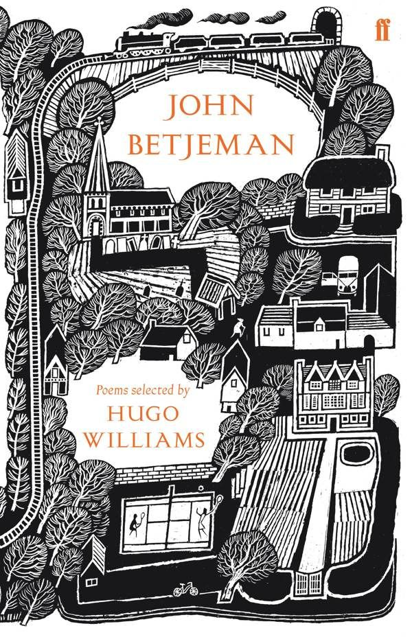 I love this cover by Joe McLaren. Selected Poems of John Betjeman, published by Faber & Faber
