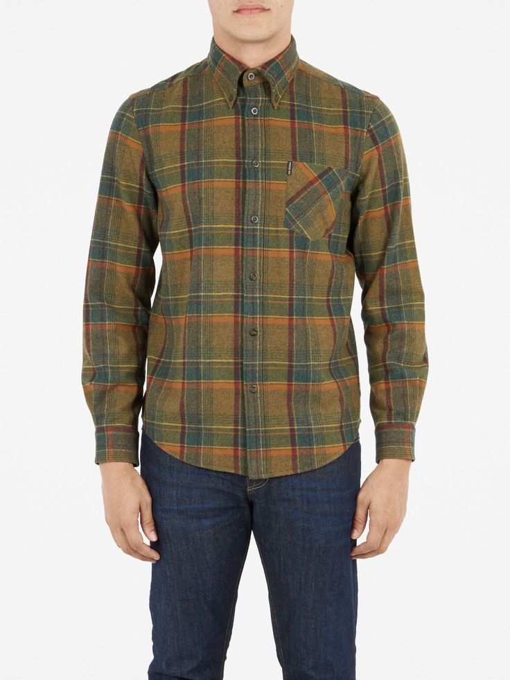 The Pendleton Shirt | Garden Green | Ben Sherman