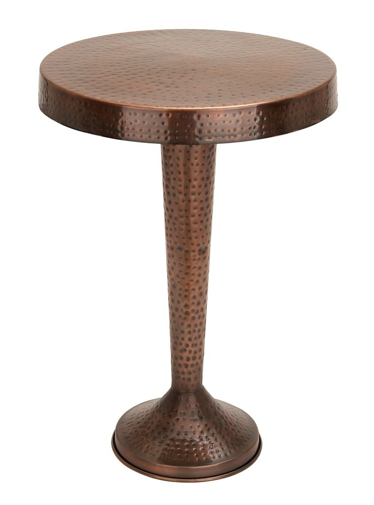Pedestal Style Round Metal Table Bronze Antique Home Furniture D |lamp |  Lighting, Furniture