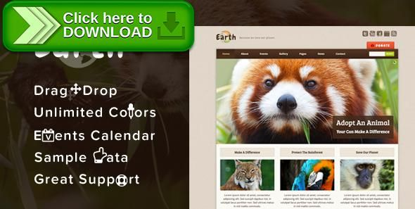 [ThemeForest]Free nulled download Earth - Eco/Environmental NonProfit WordPress Theme from http://zippyfile.download/f.php?id=9624 Tags: charity, earthy, eco, environmental, event calendar, events, foundation, green, humanitarian, nature, ngo, non-profit, philanthropy, visual composer, woocommerce