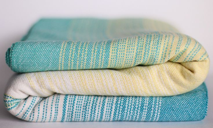 Theia natural cotton weft... makes me think of a little lemonade stand in the summer. :)