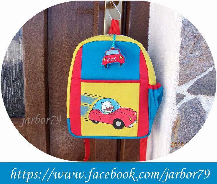 batůžek na zakázku pro 2-4 leté dítě