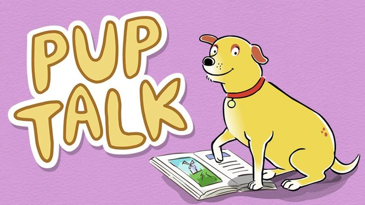 Pup talk... and lots of other resources for smartboard or computer center