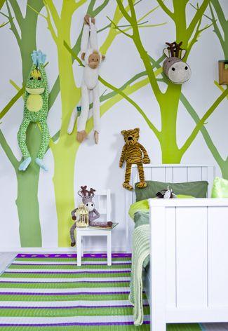 Leuke #junglekamer voor kinderen | Nice #jungle #room for kids