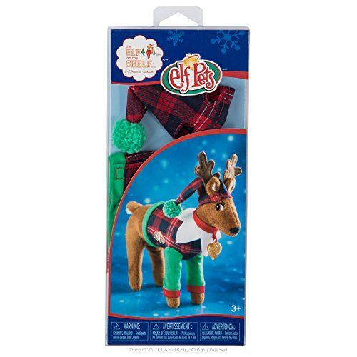 Elf on the Shelf Claus Couture Playful Reindeer Pjs Novelty Red/Green