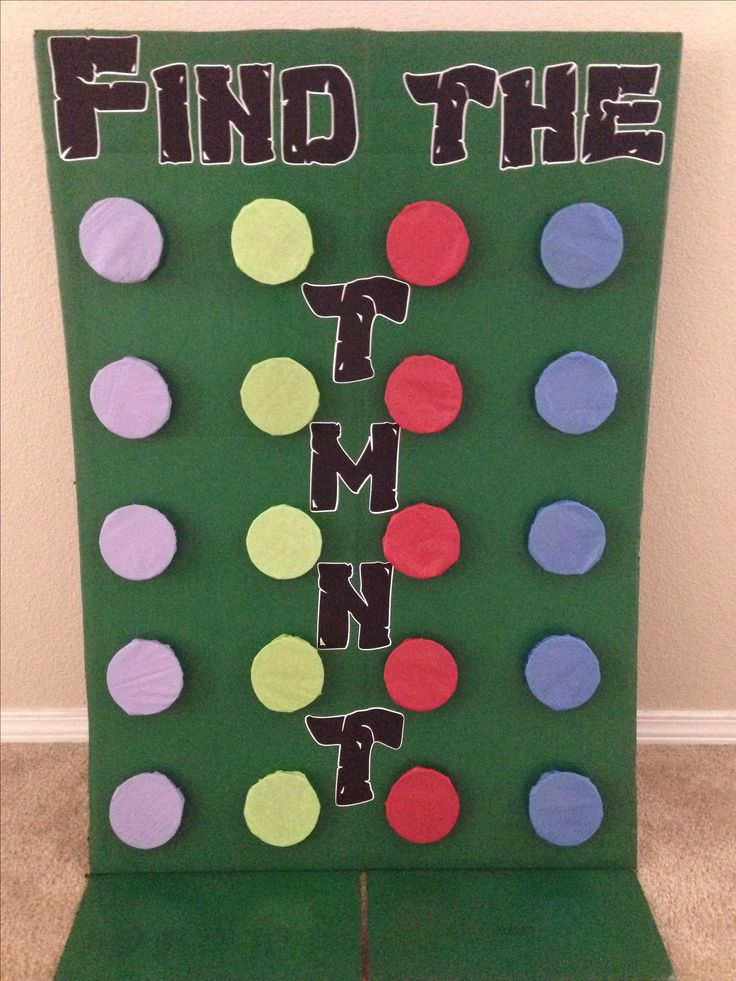 78 Best images about Party Ideas - Teenage Mutant Ninja ...