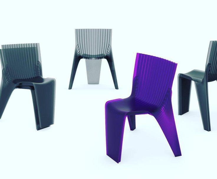 Karim Rashid (@karim_rashid_official) No Instagram: U201cZOOK Chair Stacking  Designed By #