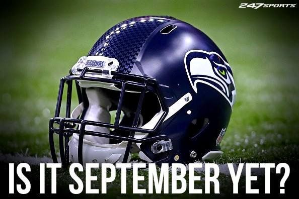 Is it September Yet. Go Hawks