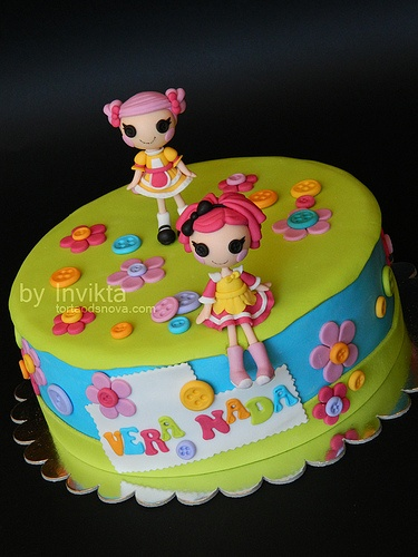 lalaloopsy cake #1 @Barbara N Frank Marchante this is cute for the twins birthday!!!! Next year!!!