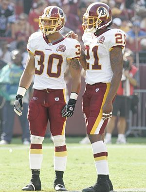 LaRon Landry and Sean Taylor (Area 51) Washington Redskins
