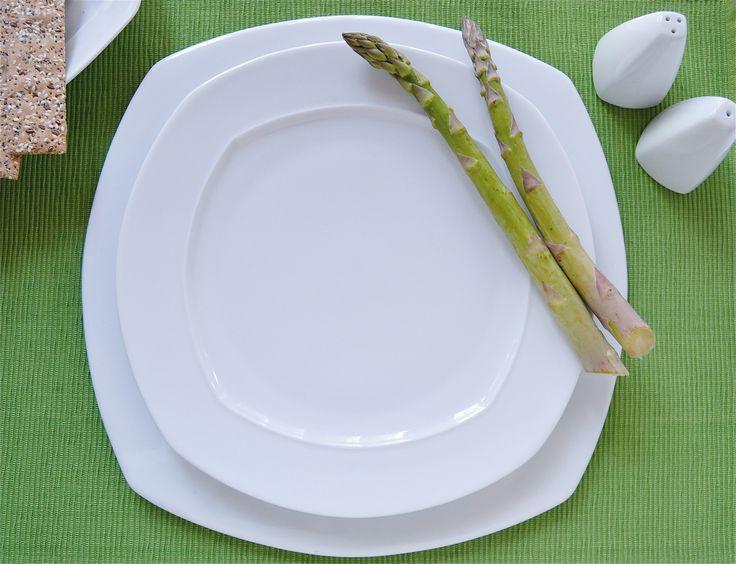 Piatti in porcellana, forma Oggi_tavola #naturale,#bio#benessere  www.ancap.it