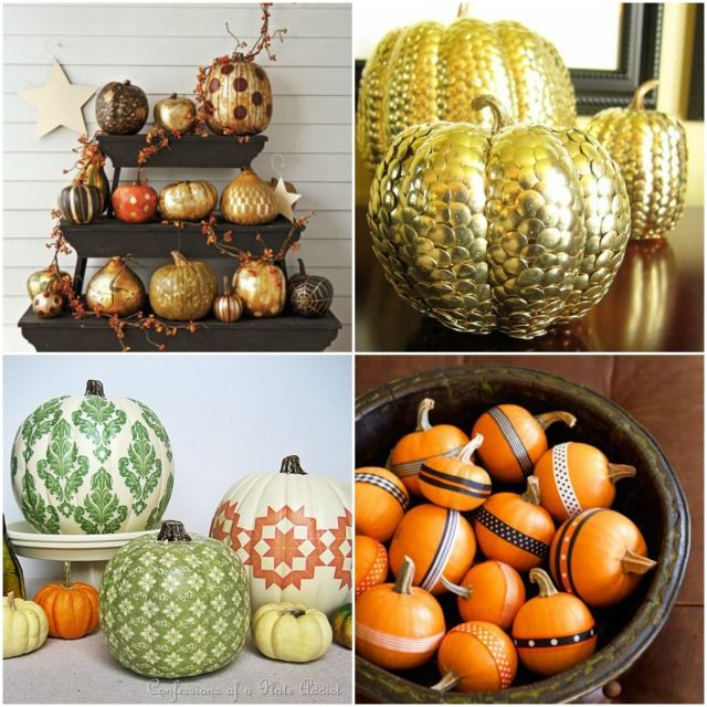 Pumpkin Decorating Ideas And My Curated Pumpkin Roundup: 17 Best Images About Pumpkins On Pinterest