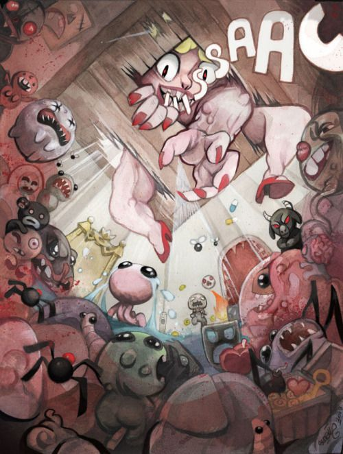 how did i miss this amazing isaac fan art? kudos to the creator!