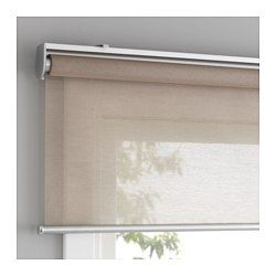 The blind is cordless for increased child safety. Filters light and reduces reflections on TV and computer screens. Can be mounted inside or outside the window frame, or in the ceiling. The blind rolls back up slowly and softly thanks to the built-in soft-closing function.
