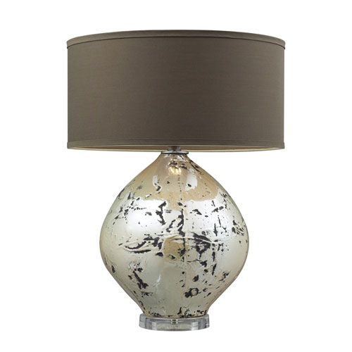Limerick Turrit Gloss Beige Table Lamp Dimond Accent Lamp Table Lamps Lamps