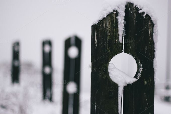 Check out Snow fence by Pixelglow Images on Creative Market