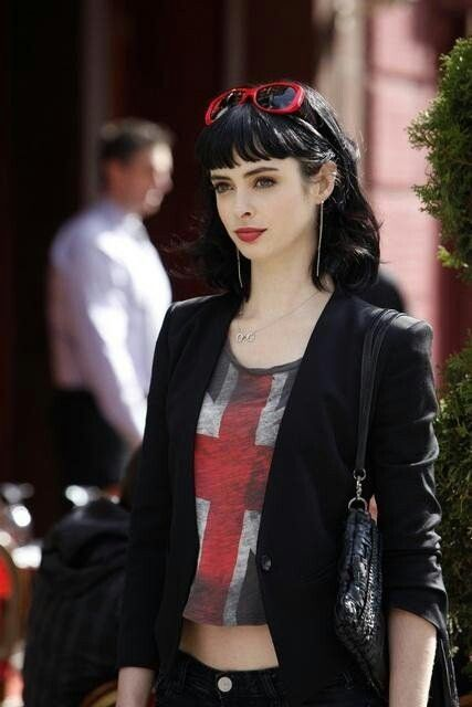 Krystin Ritter-Chloe Great mix of classic meets edgy