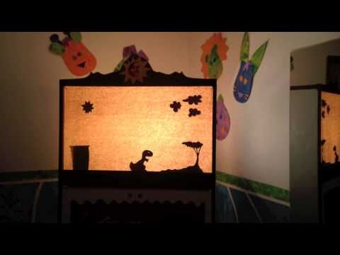 Teatro de Sombras - Día del Niño 2014 - Caja de Colores - YouTube