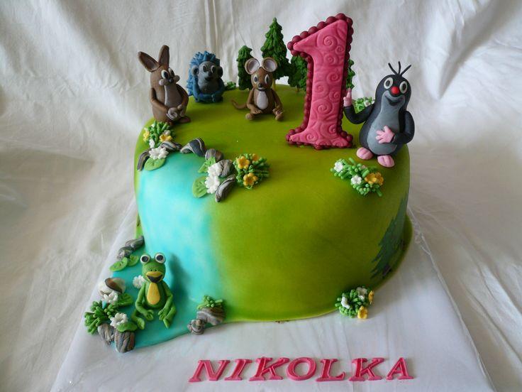 children's cake dort krteček