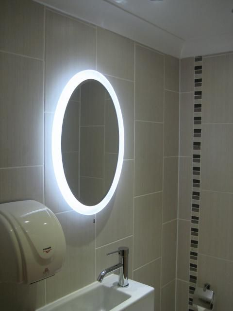 Bathroom Lighting Over Large Mirror 108 best bathroom - lighting over mirror images on pinterest