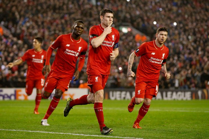 Goals from Christian Benteke and James Milner secure Europa League progress for Jurgen Klopp's men