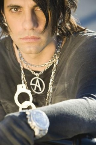 Criss Angel --- have the biggest crush on him. and i lllove magic :)