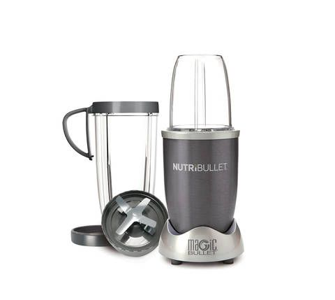 Nutribullet blending/juicing system let's you easily chop, shred and dice any food. Exclusive Cyclonic Action along with the included extractor blade generates the power to break down and emulsify foods for maximum nutrient extraction.