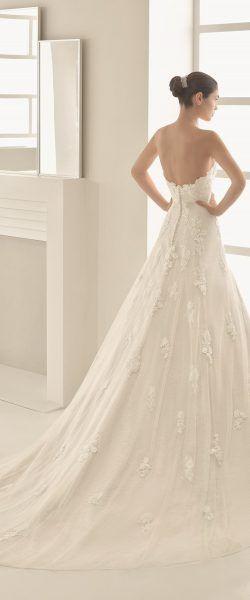 Brautkleid Hochzeitskleid edel elegant romantisch spanisch Rosa Clara ...