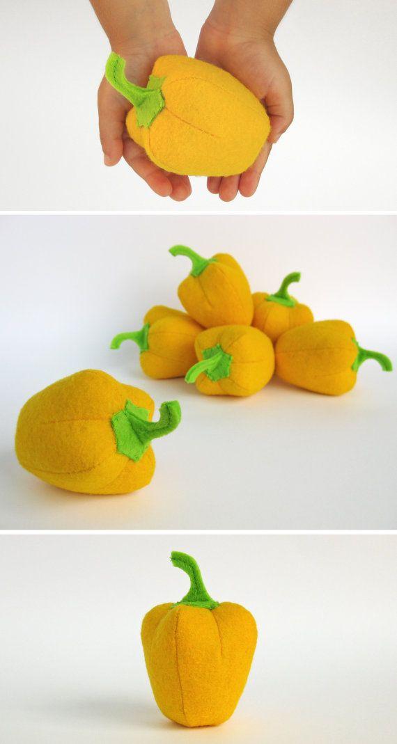Speelgoed voor baby peper gele Eco-vriendelijke baby cadeau Baby jongen cadeau Baby meisje cadeau peuter organische educatieve speelgoed pluche leren spel Waldorf