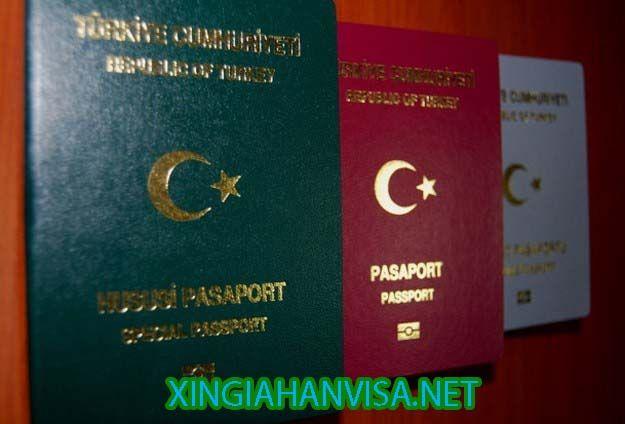 Xin công văn nhập cảnh cho người Thổ Nhĩ Kì