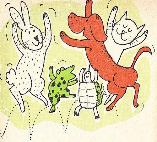 Happy Animals by jerkingchicken, via Flickr