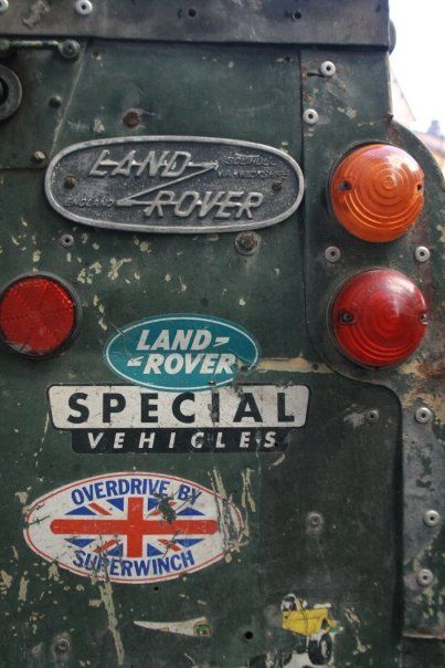 A vintage landy--- dream family car!!