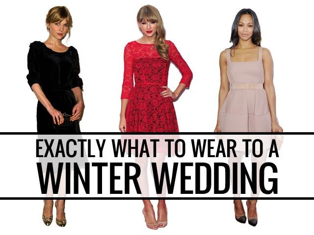 What To Wear A Winter Wedding