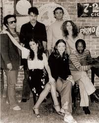 """The original 1975 cast of SNL, officially known on-air as """"The Not Ready For Prime-Time Players"""", a term coined by writer Herb Sargent, included Laraine Newman, John Belushi, Jane Curtin, Gilda Radner, Dan Aykroyd, Garrett Morris and Chevy Chase."""