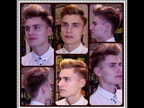 Modern Gentleman Hairstyle Pompadour / Quiff / hair tutorial