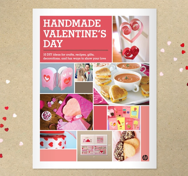Handmade Valentines Free Printable DIY Book. Great ideas!