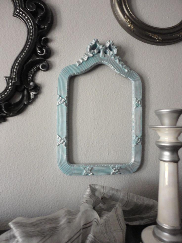 Marcos de espejos sin cristal marcos de espejos pinterest Espejos vintage sin marco