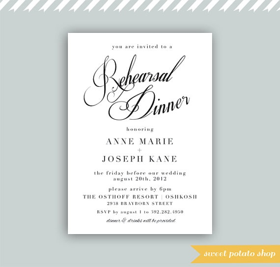 24 best Halfway dinner invites images on Pinterest Invites