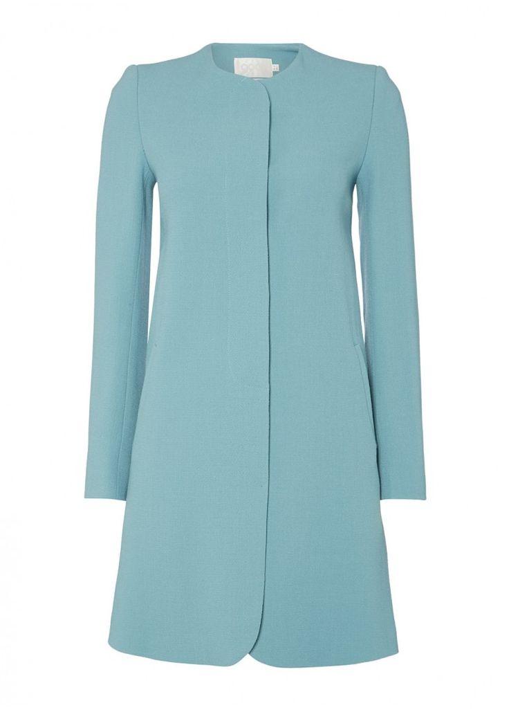 Goat Fashion Redgrave Coat in teal