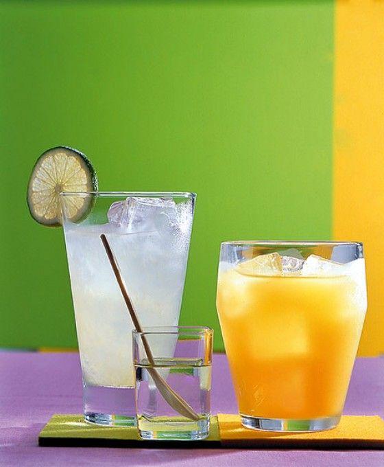 Erfrischend und fruchtig ganz ohne Alkohol: Maracuja, Ananas und Orangensaft lassen uns von der Südsee träumen.
