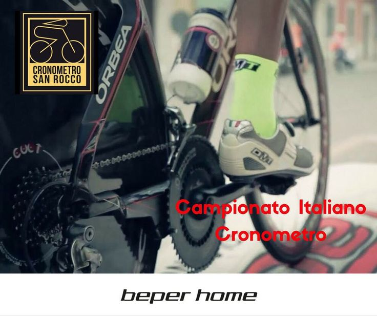 BEPER HOME è felice di sponsorizzare un grande avvenimento sportivo: V° CRONOMETRO DI SAN ROCCO  Campionato Italiano 2016 L'evento in calendario per lunedì 15 agosto e patrocinato dal Comune di Albaredo d'Adige vedrà sfilare biciclette da corsa spettacolari e ciclisti provenienti da tutta Italia. Maggiori info al sito http://cronosanrocco.it/ @beperhome #beperevents #august