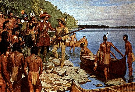 #ThrowbackThursday @frenchriverpp Samuel de Champlain canoed Ottawa, Mattawa + French Rs in July 1615 @OntarioParks