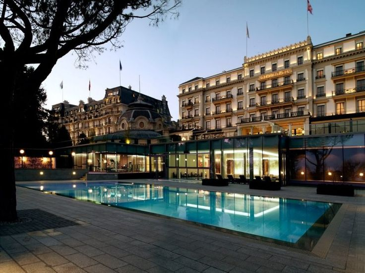 The Legendary Beau Rivage Palace In Lausanne Switzerland Where Fairy Tales Become Luxurious Reality Find This Pin And More On Top 100 Hotels Resorts