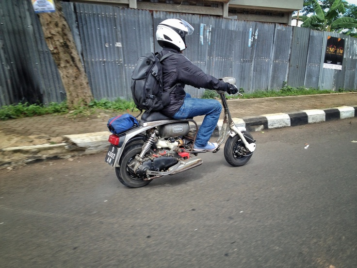 • The Prof. Man • #lambretta #scooter #bandung