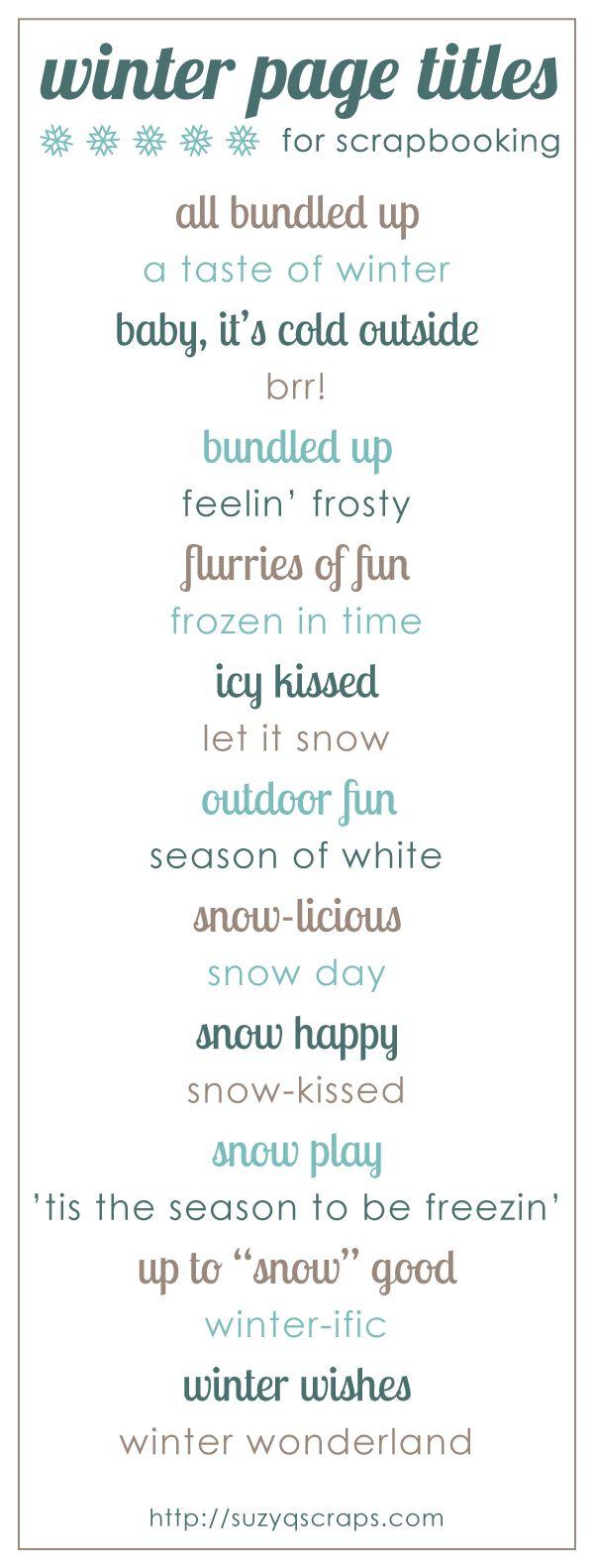 scrapbook_page_titles_winter - suzyqscraps at craft gossip